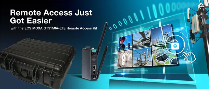 MOXA G3150A-LTE Remote Access Kit
