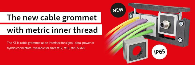 KT-M Cable Grommet With A Metric Inner Thread