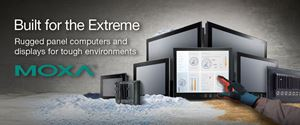 MOXA Panel Computers & Displays For Tough Environments